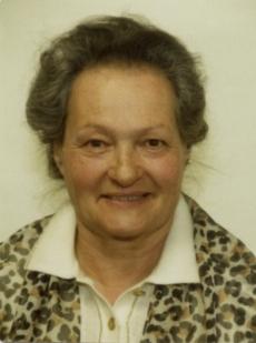 Maria Höller geb. Linder
