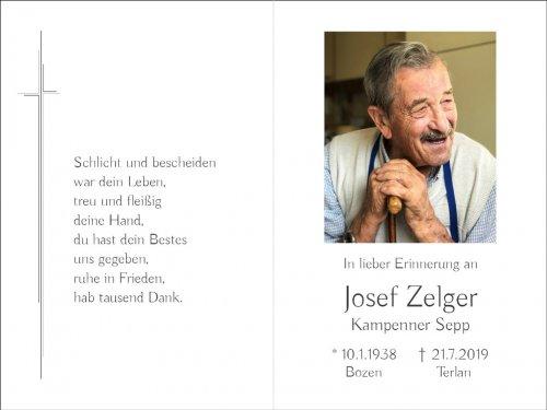 Josef Zelger