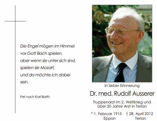 Rudolf Ausserer