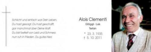 Alois Clementi