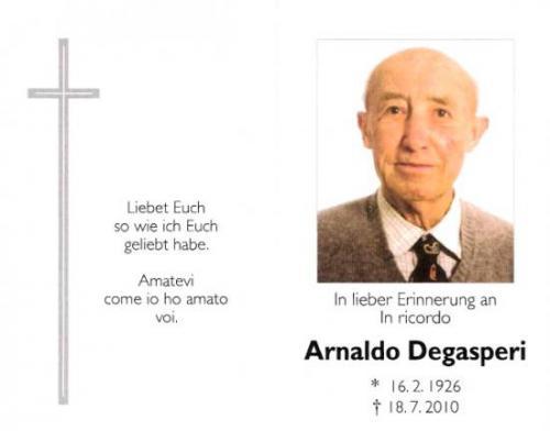 Arnaldo Degasperi