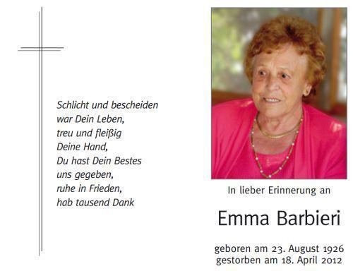 Emma Barbieri