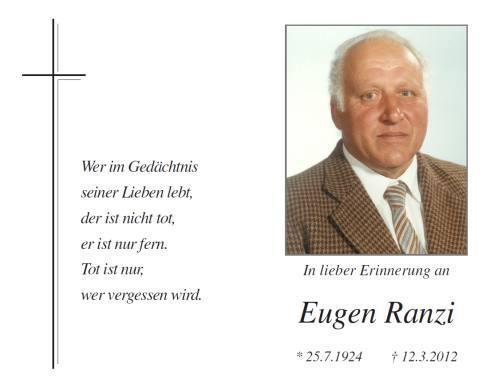 Eugen Ranzi