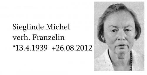 Sieglinde Franzelin verh. Michel
