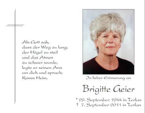 Brigitte Geier