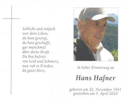 Hans Hafner