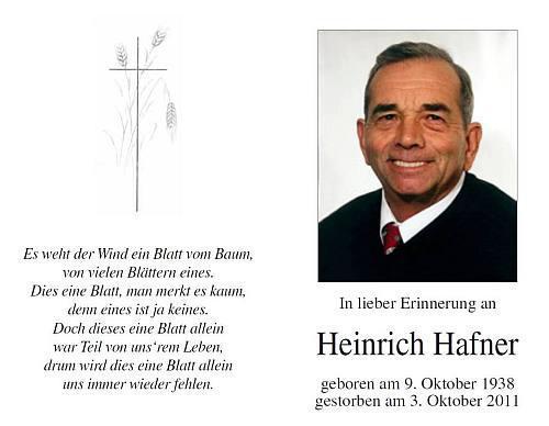 Heinrich Hafner