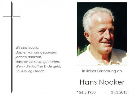Hans Nocker