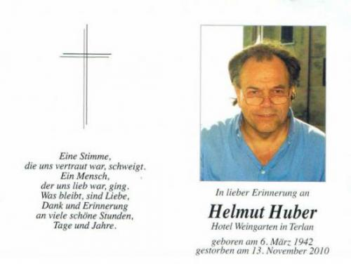 Helmuth Huber