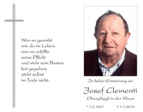 Josef Clementi