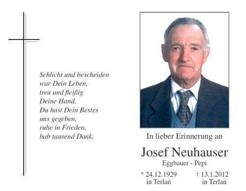 Josef Neuhauser
