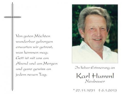 Karl Humml