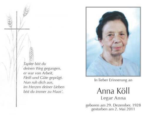 Anna Köll