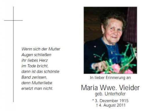 Maria Vieider