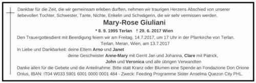 Mary-Rose Giuliani