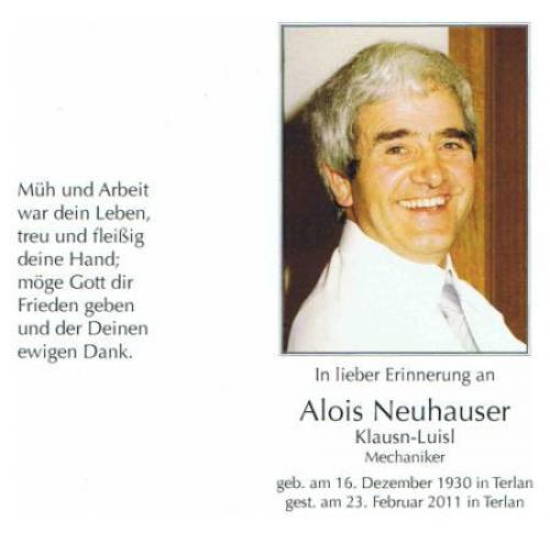 Alois Neuhauser