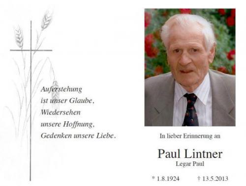 Paul Lintner