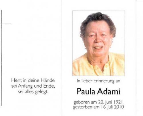 Paula Adami