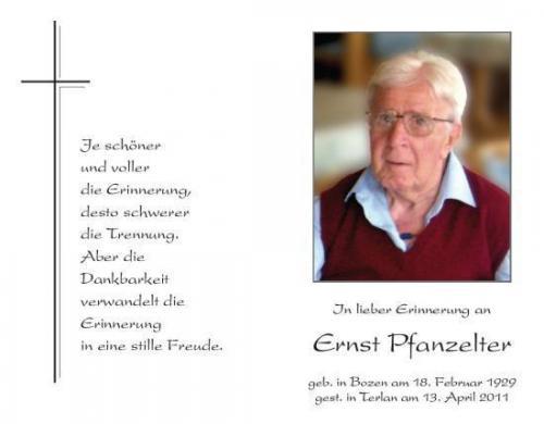 Ernst Pfanzelter