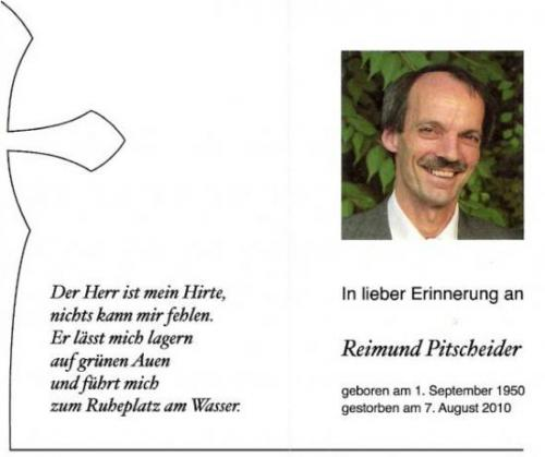 Reimund Pitscheider