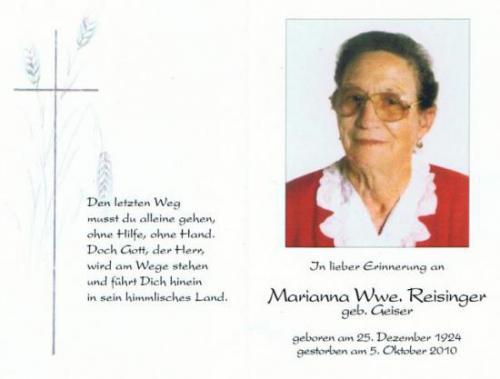 Marianna Reisinger