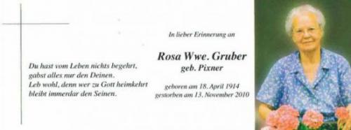 Rosa Gruber