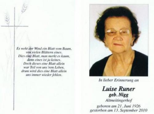 Luise Runer