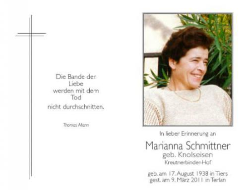 Marianna Schmittner