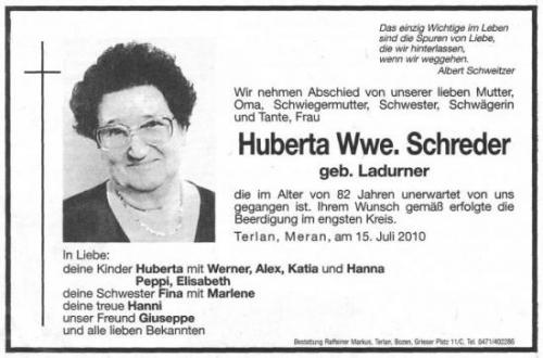 Huberta Schreder