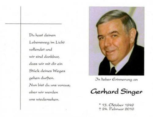 Gerhard Singer