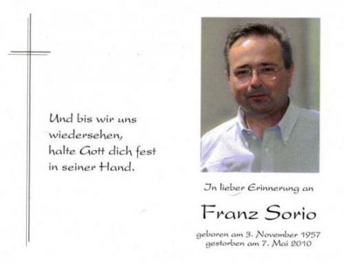 Franz Sorio