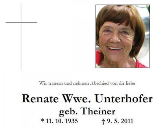 Renate Unterhofer