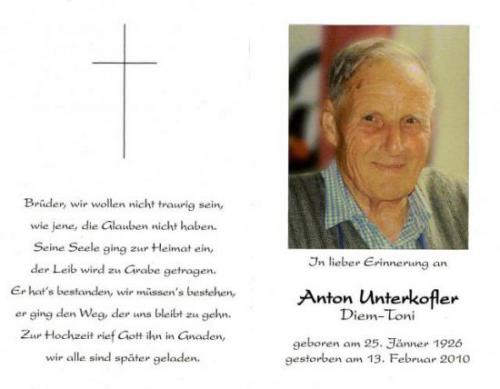 Anton Unterkofler