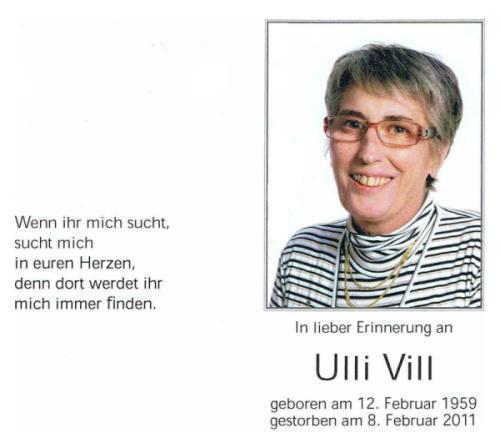 Ulrike Vill