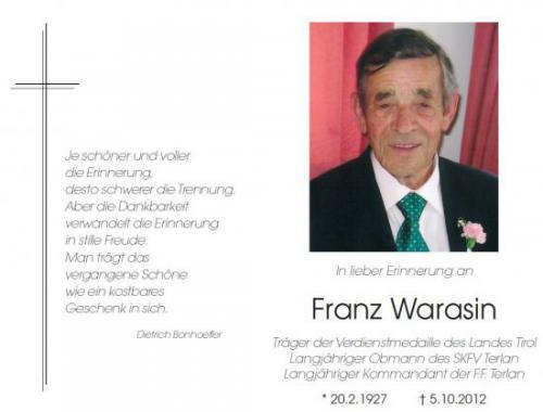 Franz Warasin