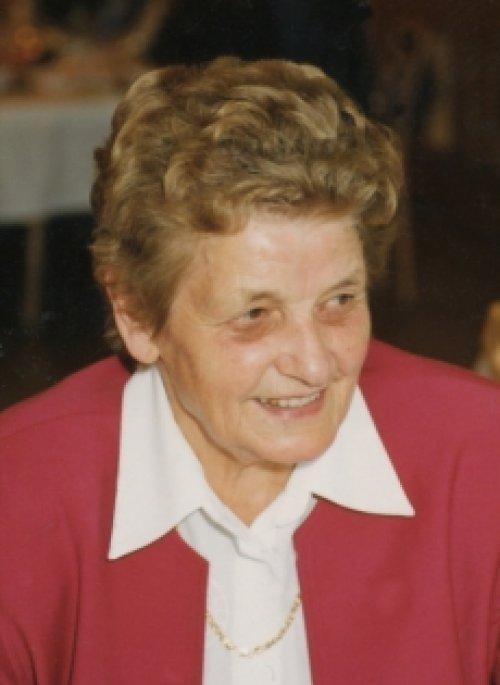 Matilde Weiss geb. Oberhauser