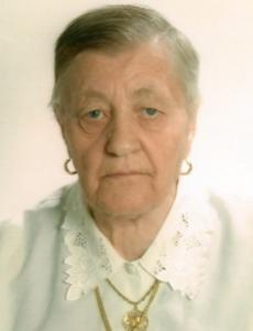 Frieda Holzner geb. Lanthaler